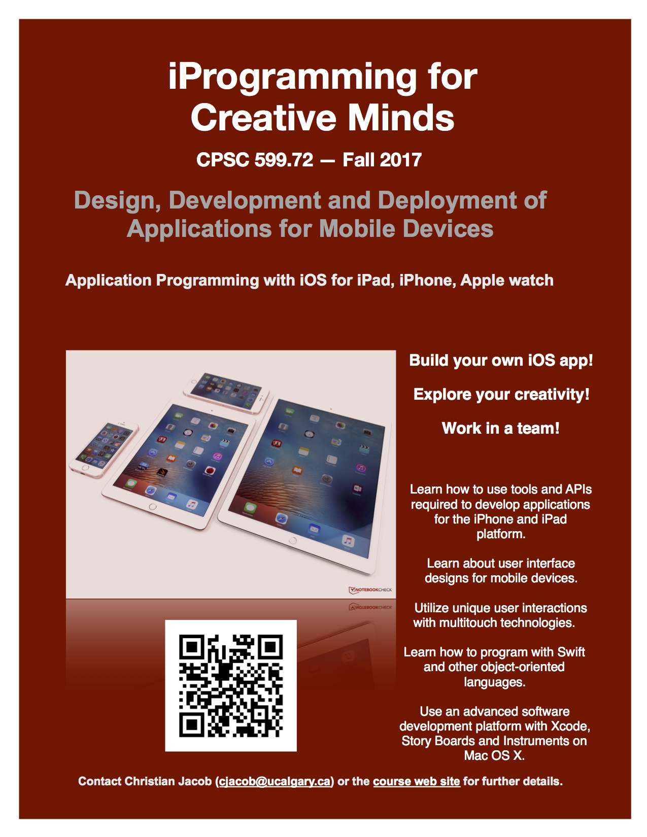 iProgramming for Creative Minds